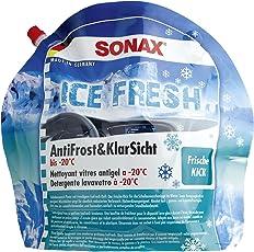 SONAX Antifrost und Klarsicht gebrauchsfertig 3 Liter IceFresh Winter-Scheibenreiniger 01334410