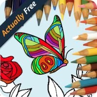 Abstract Coloring for adults