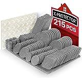 Meubilair Pads 215 stuks X-PROTECTOR Vilt Meubilair Pads - Meubilair Vilt Pad -Premium Meubilair Vilt Pads - Stoel Been vloer