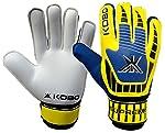 Kobo Supreme 8 Latex Football Goal Keeper Gloves (White)