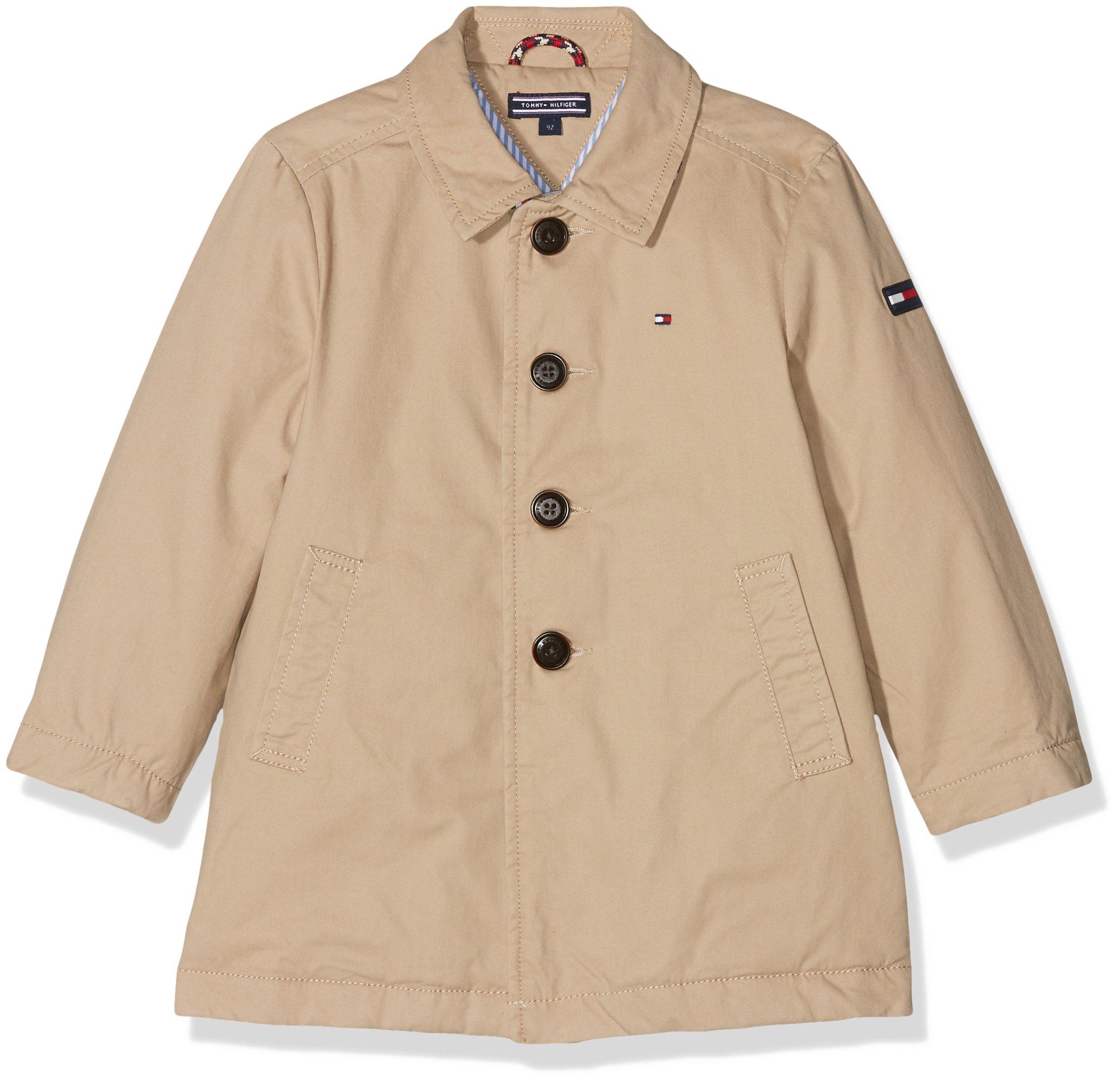 Tommy Hilfiger Thkb Mac Coat Chaqueta para Niños