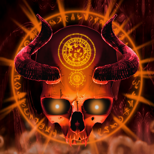 mystical skull live wallpaper  amazon fr  appstore pour android