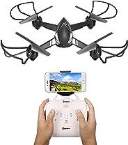 EACHINE E32HW Drone con HD cámara 720p 2.0MP Drone Cámara WiFi FPV App Control Modo sin Cabeza Quadcopter (Negro) …