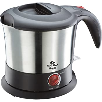 Bajaj Majesty KTX 9 1-Litre Multifunction Stainless Steel Kettle