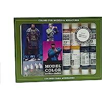 Vallejo val899 Peinture Model Color WWII Allemand Peinture acrylique – Couleurs assorties (Lot de 16)