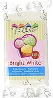 FunCakes Pâte à Sucre Blanc Brillant 250 g