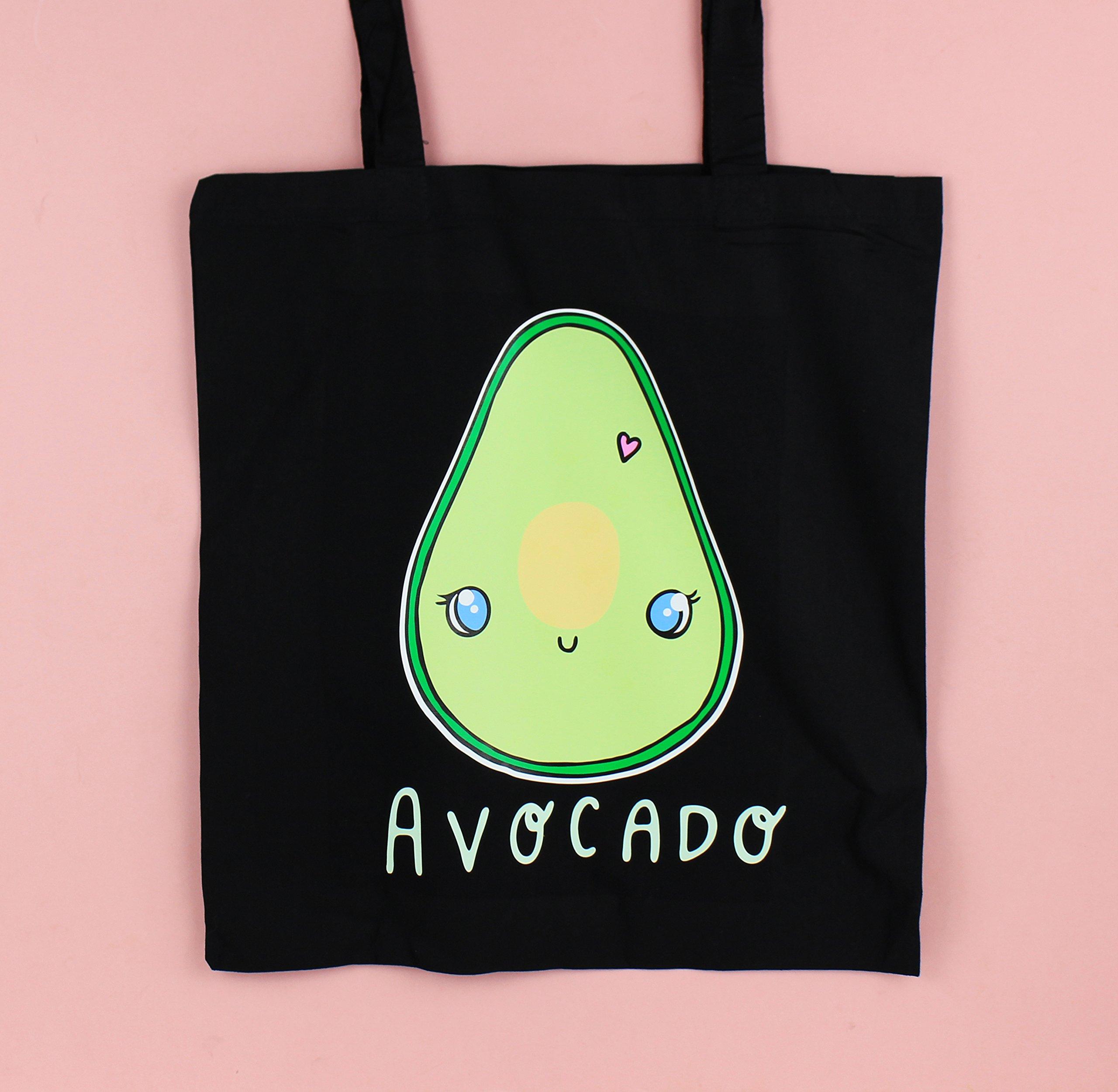 Avocado Tote Bag - handmade-bags