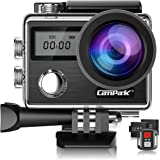 Campark X20 4K 20MP Waterproof Action Camera for Travel with Touch Screen EIS Remote Control