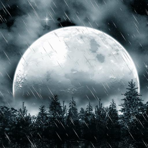 Lunar Rain Live Wallpaper: Amazon.fr: Appstore Pour Android