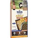 bosch HPC Adult con salmón fresco y patata | Alimento seco para perros adultos de todas las razas | 1 x 15 kg