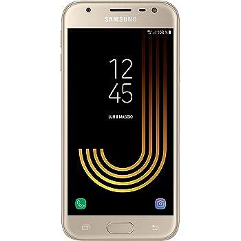 Samsung Galaxy J3 2017 Smartphone, 16 GB Espandibili, Dual Sim, Gold (Oro) [Versione Italiana]