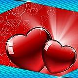 Valentinstag-Collage