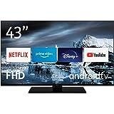 Nokia Smart TV 4300B 43 inch (108 cm) Android TV (Full HD, DVB-C/S2/T2, Netflix, Prime Video, Disney+)
