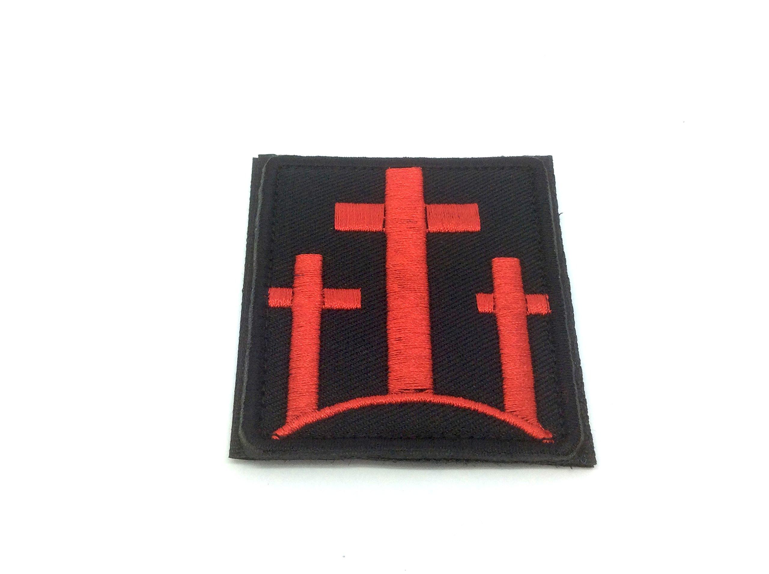 Tre Croci Cristiane Ricamato Airsoft Patch Toppa