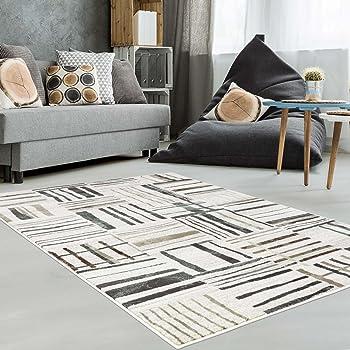 Teppich Modern Designer Wohnzimmer Schlafzimmer Läufer Inspiration Just  Karo Pastell Blau Beige Neu, Größe In Cm:80 X 150 Cm;Farbe:Beige