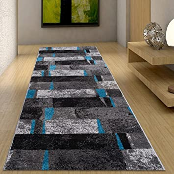 Teppich flur  Amazon.de: Moderne Läufer Teppich Flur Brücke - Tolle Muster in ...