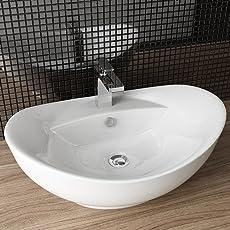 Amazon.de: Waschbecken - Badinstallation: Baumarkt: Waschschalen ...