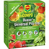 COMPO Duaxo Universal Pilz-frei, Bekämpfung von Pilzkrankheiten an Obst, Gemüse, Zierpflanzen und Kräutern, Konzentrat…