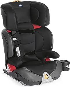 Chicco Oasys Fixplus Seggiolino Auto Gruppo 2/3, Jet Black