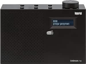 Imperial Dabman 14 Tragbares Digitalradio Dab Dab Ukw Lcd Display Batteriebetrieb Schwarz Heimkino Tv Video