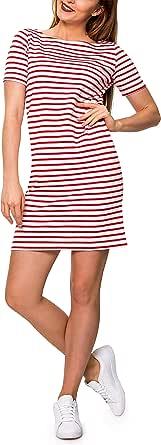 PIECES Pcingrid SS Dress Noos Vestito Donna