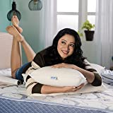 MM FOAM Softouch Pillow - Soft, Latex-Polyfibre Hybrid (25.75 x 15.25 x 6 inches)