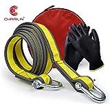 Chairlin Abschleppseil, 5 cm x 4 m, Laborgetestet, 9 Tonnen Bruchfestigkeit – strapazierfähige Tasche mit Kordelzug…