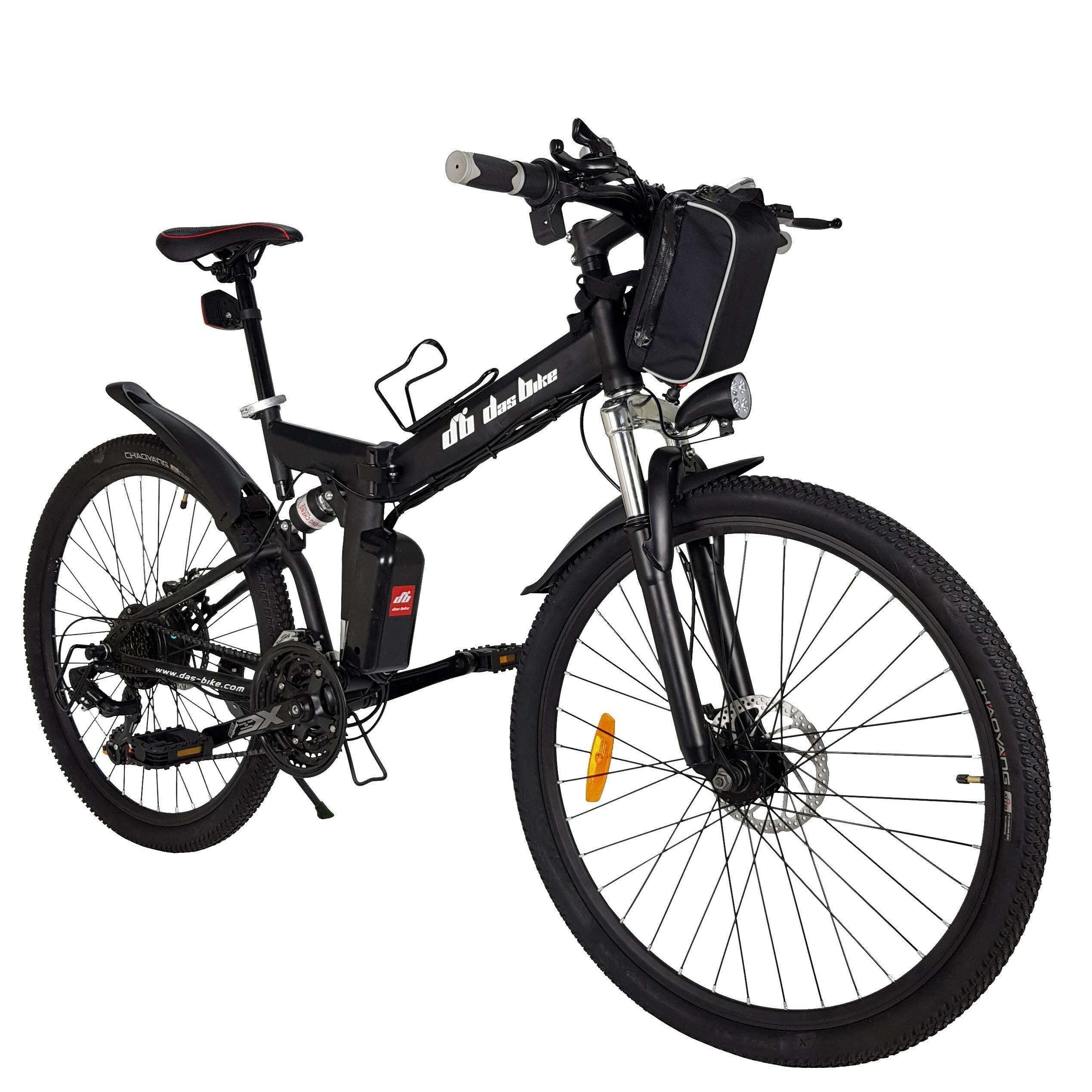 Radsport 26 EBike Elektro Fahrrad Faltrad Ebike 21 Speed Shimano Pedelec Mountainbike