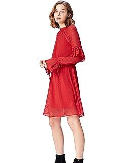 find Abendkleid Damen mit Volants und R/üschen Marke