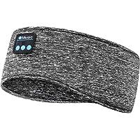 Schlafkopfhörer Bluetooth 5.0, Schlaf Strinband Kopfhörer Headband Schlafmaske, kabellose Sportskopfhörer Musik schlafen…
