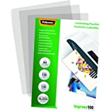 Fellowes  5351111 Pochettes de plastification brillantes Impress 100 microns A4 - Pack de 100 Transparent
