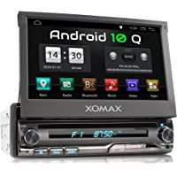 XOMAX XM-DA775 Autoradio mit Android 10, QuadCore, 2GB RAM, 32GB ROM, GPS Navigation, DVD, CD I Support: WiFi WLAN, 3G…