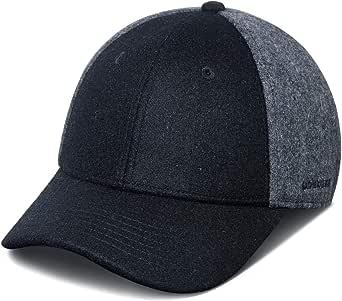 GADIEMKENSD Warm Woolen Baseball Caps 60% Wool for Autumn Winter