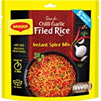 MAGGI Fried Rice Masala, Chilli Garlic, 75g Pouch (5 Sachets) | Restaurant Style