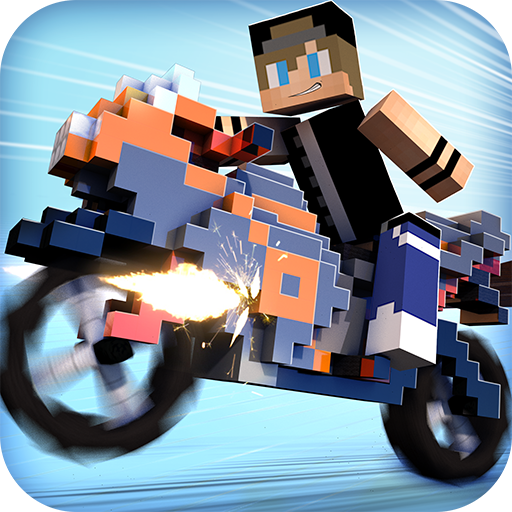 Blocky Motorbikes - Crazy GP Motorbike Racing Game