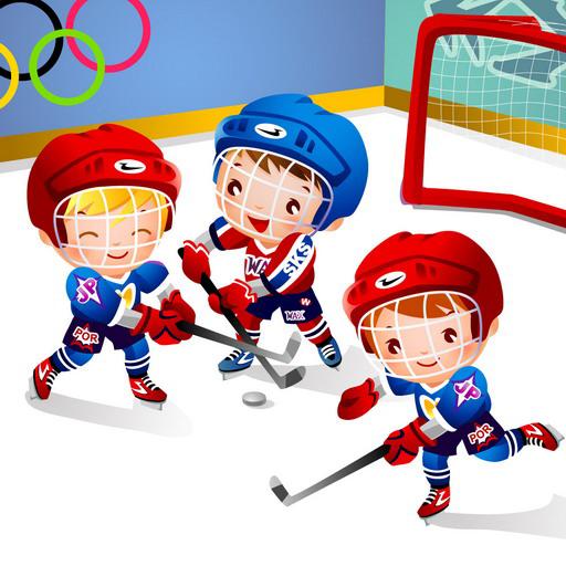 Kids Puzzle: Sport (Hockey-kindergarten)