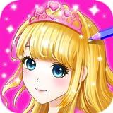 Princess Coloring book for Kids & Girls FREE Game