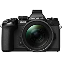 Olympus OM-D EM-1 Compact System Camera (16.3MP, Live MOS, M.Zuiko 12-40 mm Lens) 3 Inch Tiltable Touch Screen LCD…