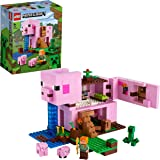 LEGO 21170 Minecraft The Pig House Building Set with Alex and Creeper Figure