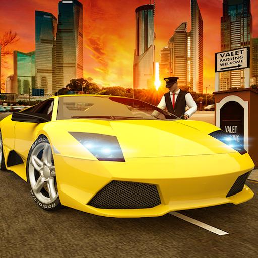 Skill Builders Mobile (Valet Car Supermarket Mania Rush  3D Game: Modern Car Driving Parking Frenzy Simulator Adventure Free For Kids 2018)