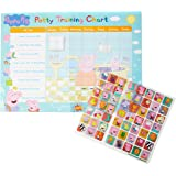 Paper Projects 01.70.30.022 Peppa Pig Potty en Toilet Training Reward Chart en 56 Sparkly Stickers, Roze