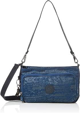 Kipling Womens Myrte Crossbody, Blue Eclipse Pr, 24x14.5x4.5 cm (B x H x T)