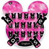Pink Cute Bowknot Keyboard Theme