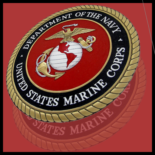 US Marines Wallpaper (Us-marine-emblem)