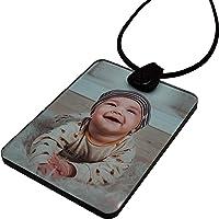 Foto Spiegelanhänger personalisiert individuell mit Wunschfoto oder Text Anhänger für Auto Spiegel