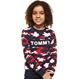 Tommy Hilfiger Boy's AOP Sweatshirt, Blue