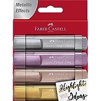 Faber-Castell 154640 Evidenziatore, Colore Metallic, 1,6 x 11,8 x 15,2 cm, FC154640