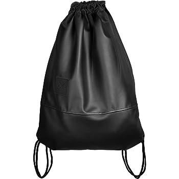 8b99b24aaf107 Black Out Sports Bag - Kunstleder Rucksack Gym Bag Turnbeutel Sport Beutel  Tasche Manufaktur13 M13