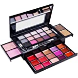 SHANY Fierce & Flawless All-in-One Makeup Set Compact with Mirror, 15 Eye Shadows, 2 Bronzers, 2 Blushes and 15 Lip/Eye Gloss