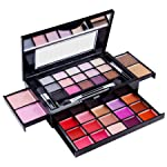 SHANY Fierce & Flawless All-in-One Makeup Set Compact with Mirror, 15 Eye Shadows, 2 Bronzers, 2 Blushes and 15 Lip/Eye...